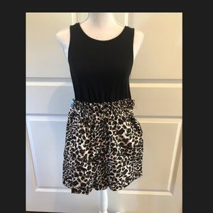 Brand New Express/Rocky Barnes Leopard Shorts